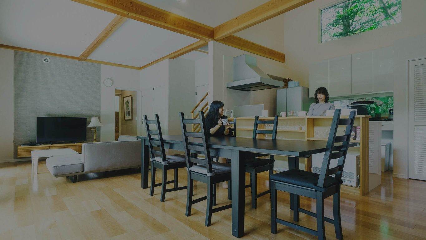 軽井沢の別荘建築セイケンハウス